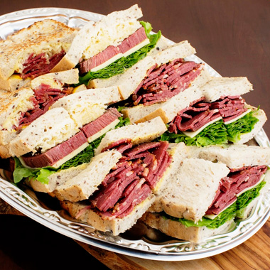 Boston Style Sandwich Plate