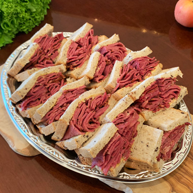 King of The Pastrami Sandwich Plate